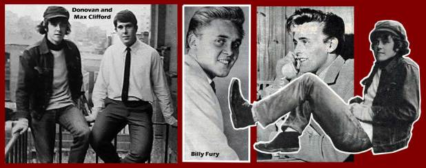 Billy Fury and Donovan