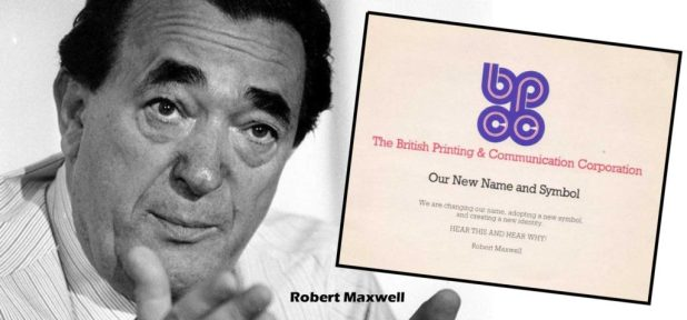 Robert Maxwell and the BPCC change of address