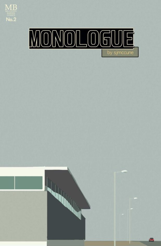 Monologue Issue Two - Cover