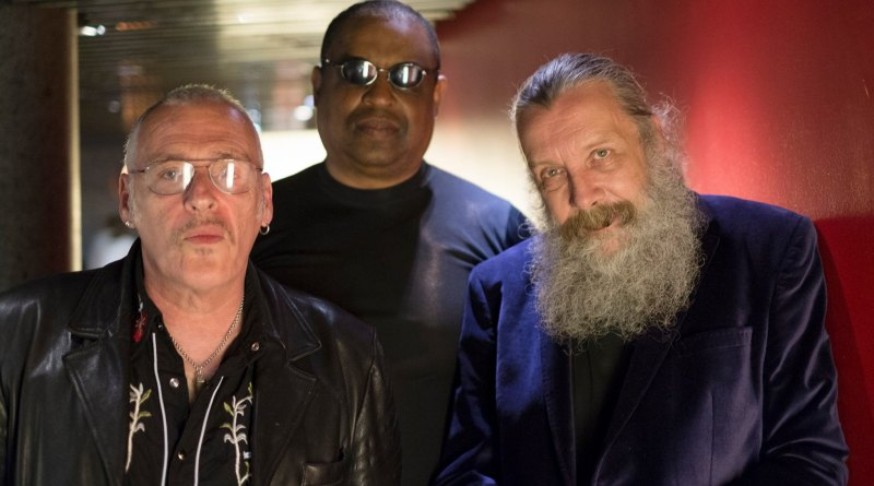 Charles Sahar Murray, Alan Mitchell and Alan Moore. Photo: Mitch Jenkins (Used with his kind permission)