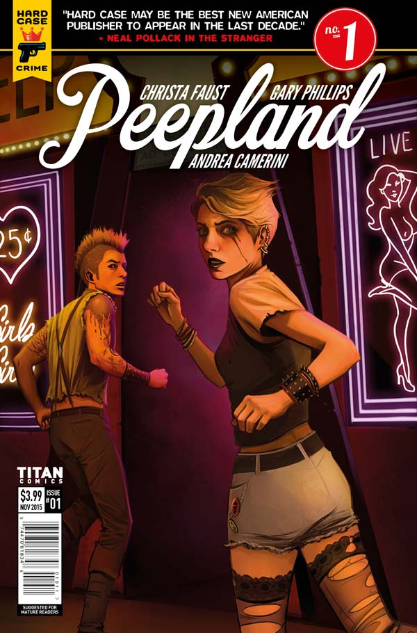 Peepland #1 Cover D: Caitlin Yarsky
