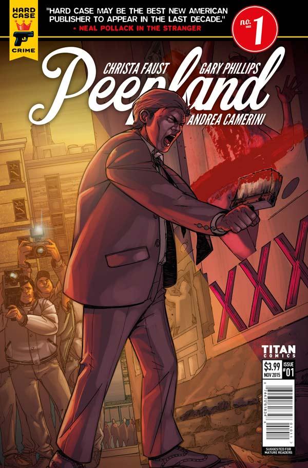 Peepland #1 Cover E: Andrea Camerini