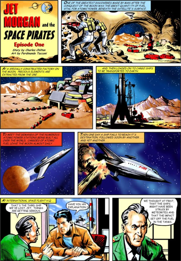 Spaceship Away 39 - Jet Morgan Page 1