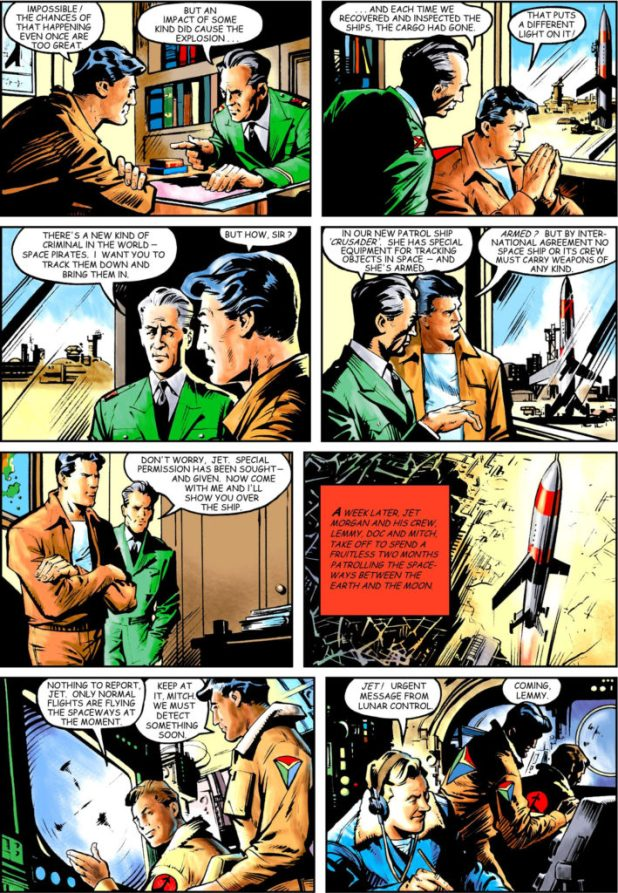 Spaceship Away 39 - Jet Morgan Page 2