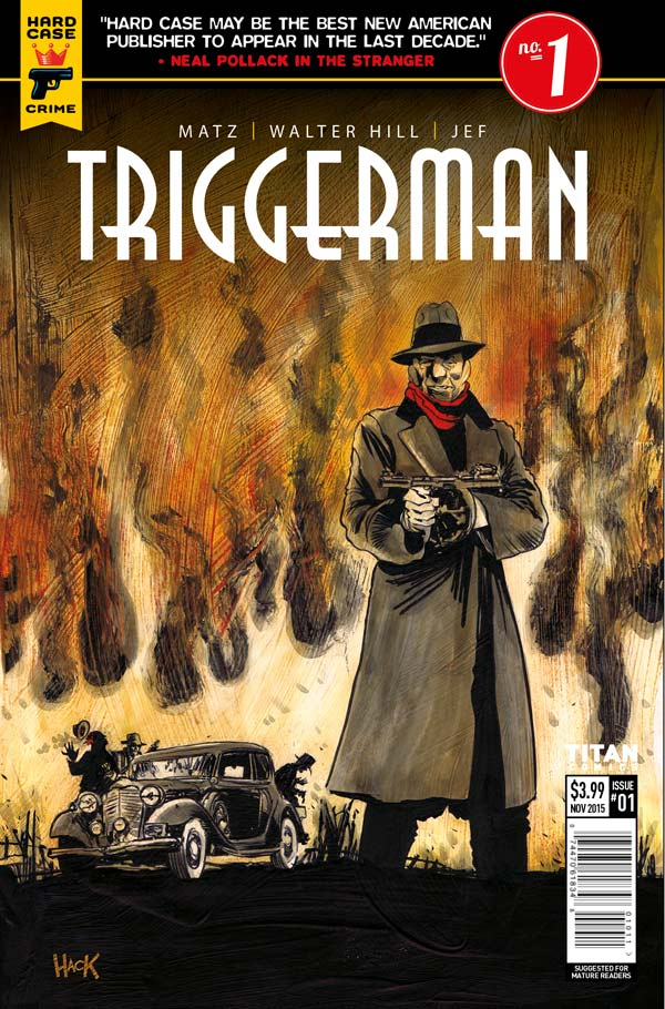 Triggerman #1 Cover D: Robert Mack