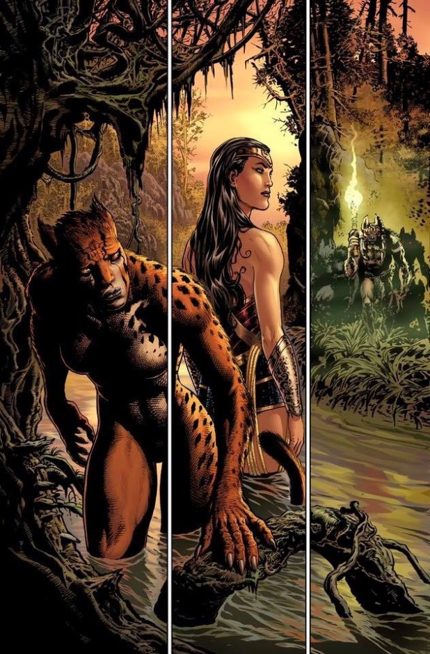 Wonder Woman #3 Page 3 Unlettered