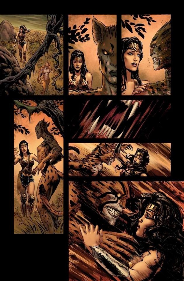 Wonder Woman #3 Page 4 Unlettered