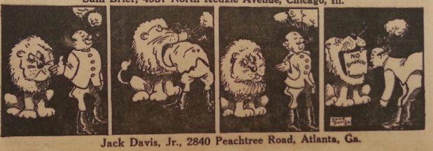 Jack Davis cartoon for Tip Top Comics