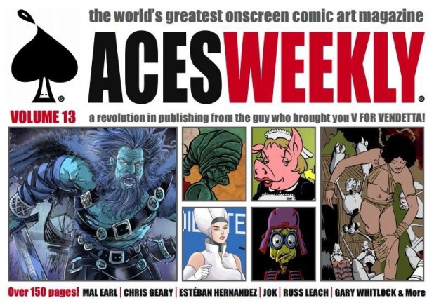 Aces Weekly Volume 13 - Promotional Art