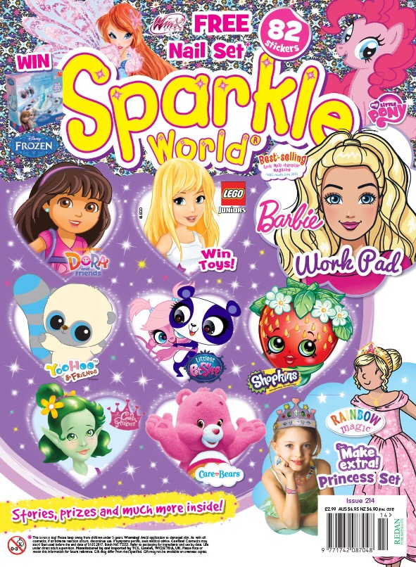 Sparkle World Issue 214 - Cover
