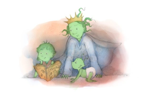 The Goblin Princess - Book Art
