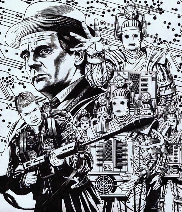 Cover art for the Doctor Who: The Good Soldier collection