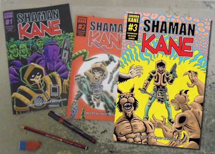 Shaman Kane Books 1 -3 by David Broughton