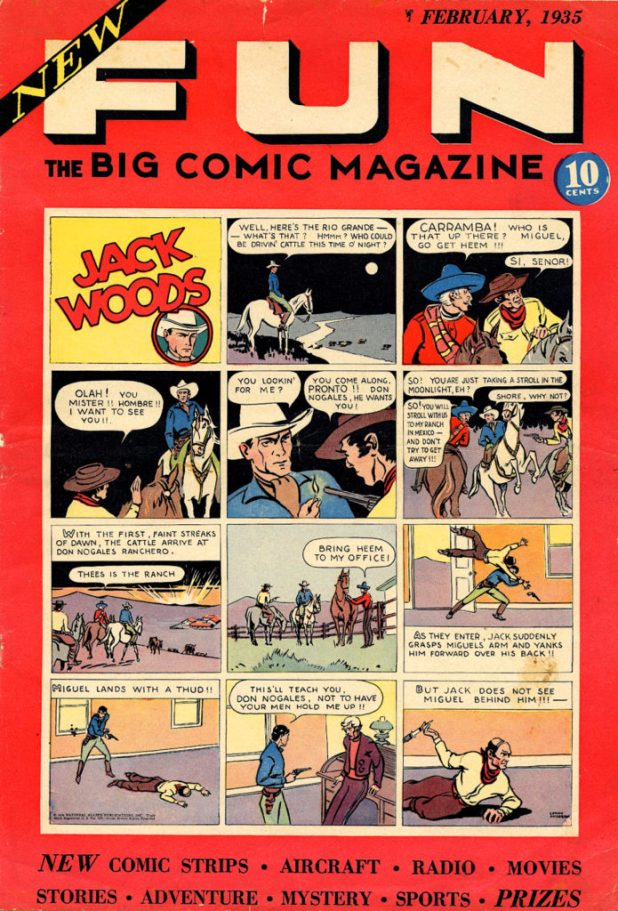 New Fun Comics #1, published in 1935.