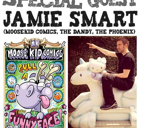 Awesome Comics Podcast Episode 58: Jamie Smart
