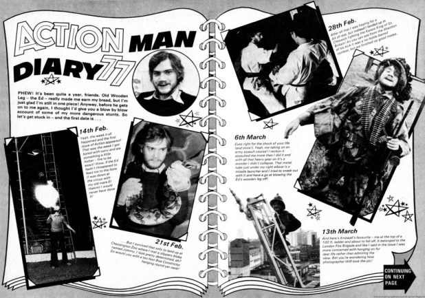 Action Annual 1977 - Action Man Diary 1