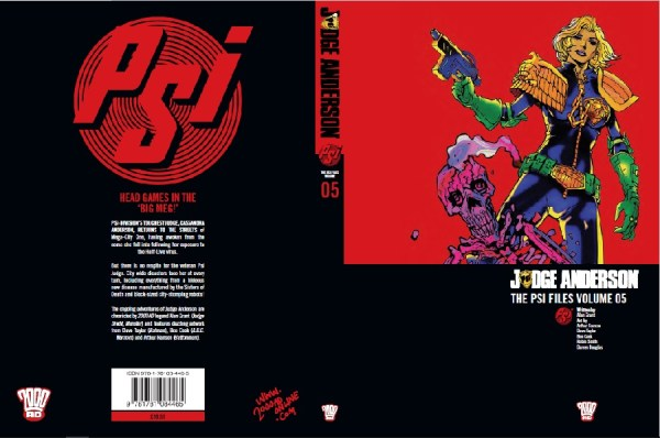 Anderson Psi Files Volume 5 Cover