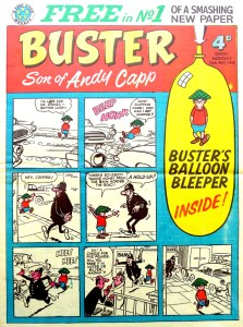 Buster- Issue One - Cover dates 28th May 1960
