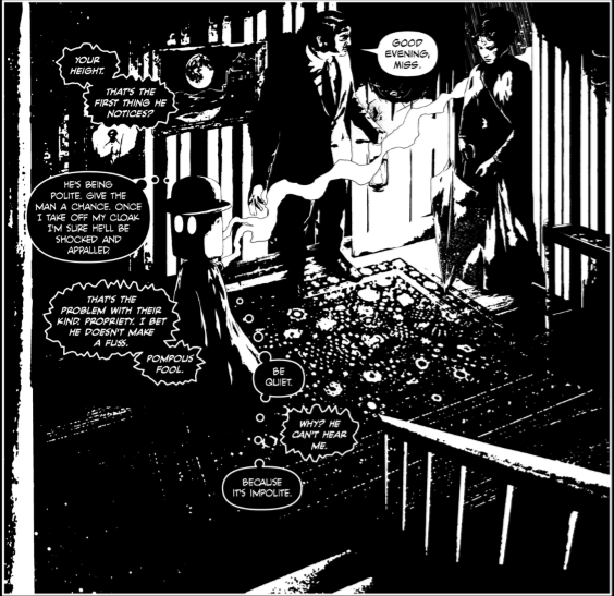 Cognition  Issue One - Opening Panel