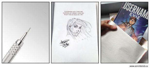 Username Evie - Signed Copy