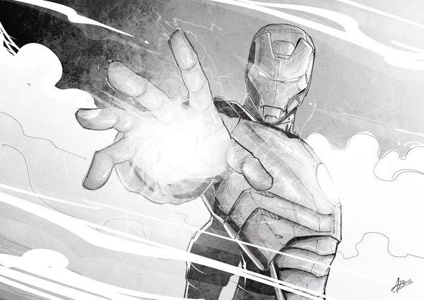 Iron Man by Amrit Birdi