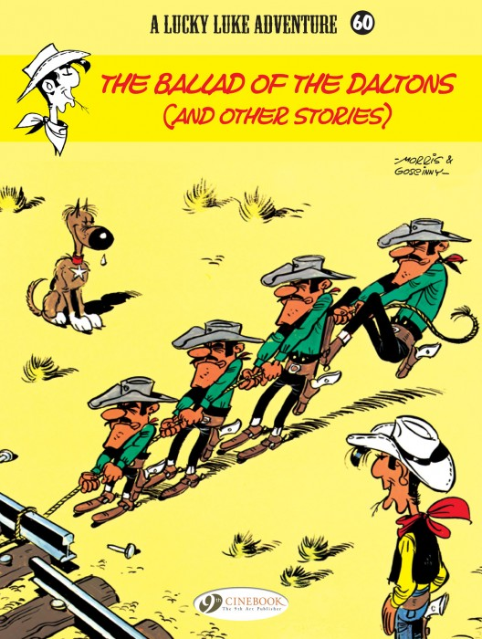 Lucky Luke Volume 60: The Ballad of the Daltons