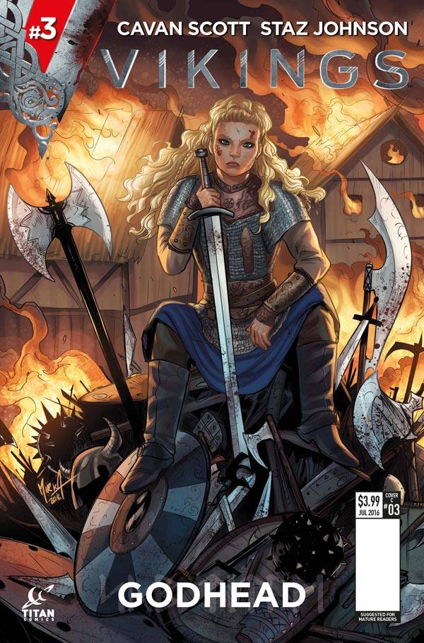 Vikings #3 Cover A