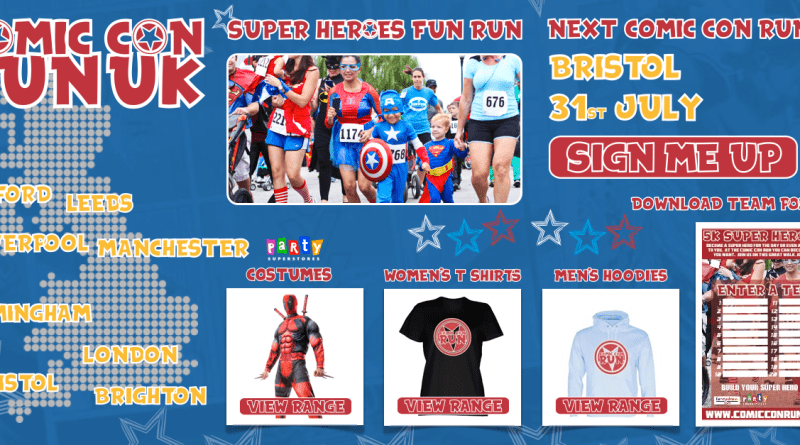 Comic-Con Run Graphic