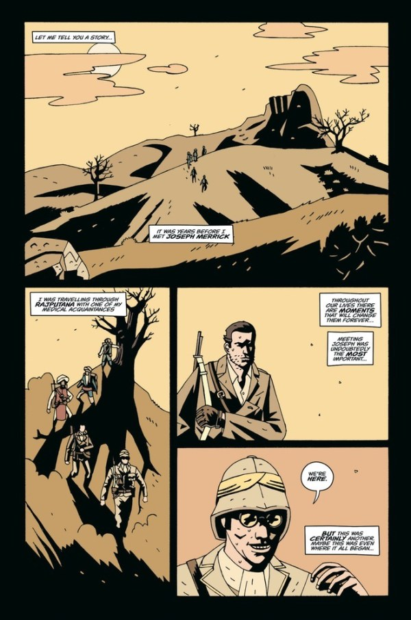 Treves: A Restless Night - Sample Page