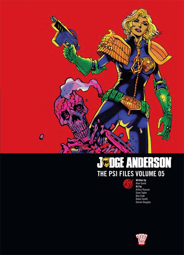 Judge Anderson: The Psi Files Volume Five