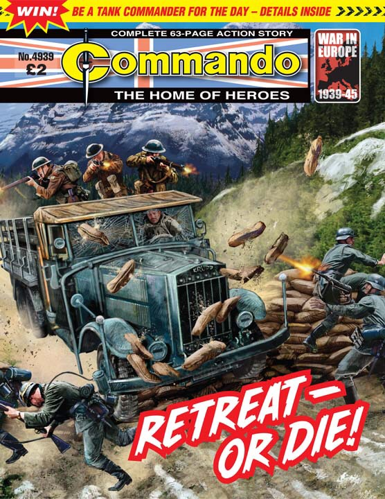 Commando No 4939 – Retreat - Or Die!