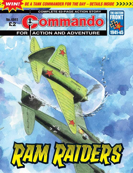 Commando No 4941 – Ram Raiders