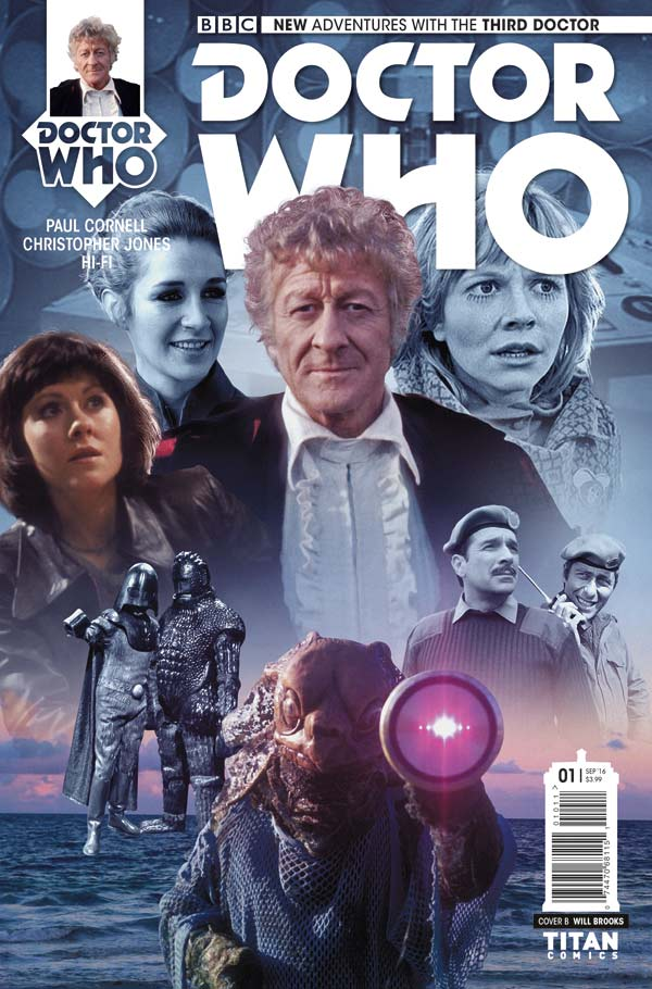 Doctor Who: The Third Doctor - Cover B: Photo
