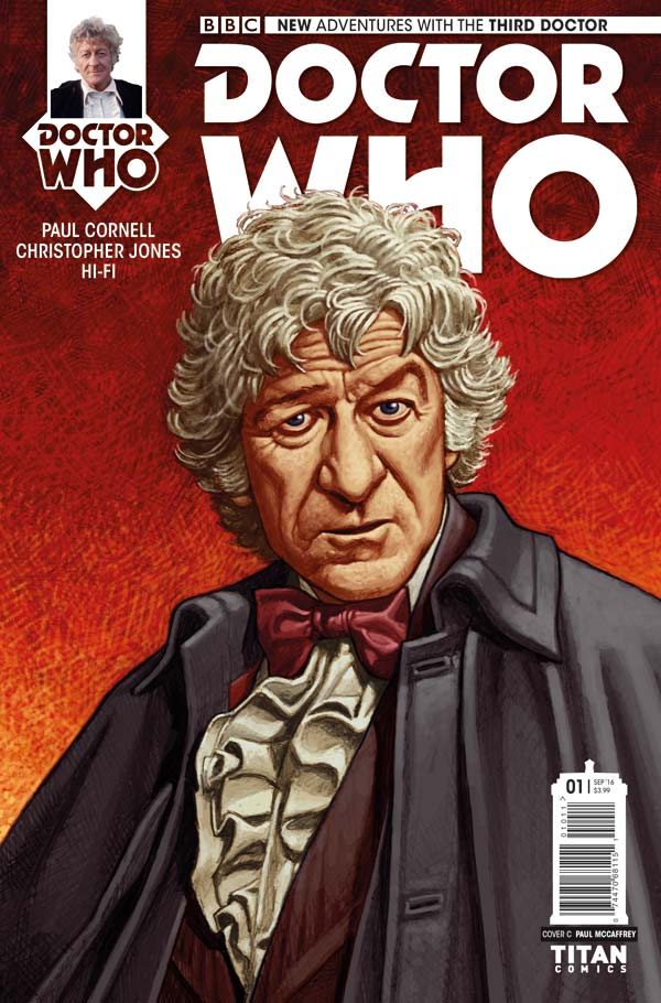 Doctor Who: The Third Doctor - Cover D:Paul McCaffrey