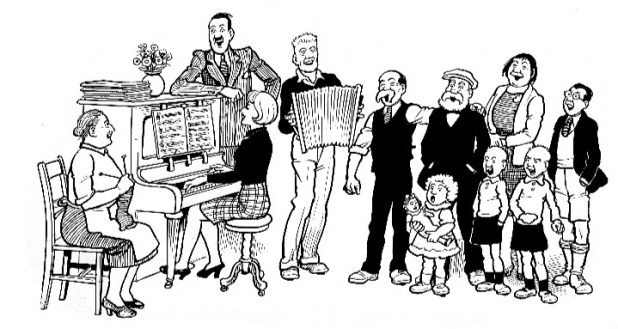 The Broons Cast G DC Thomson
