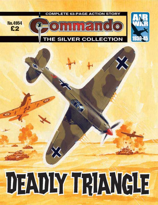 Pirate Wars, a Bermuda Triangle mystery and more in new Commando comics