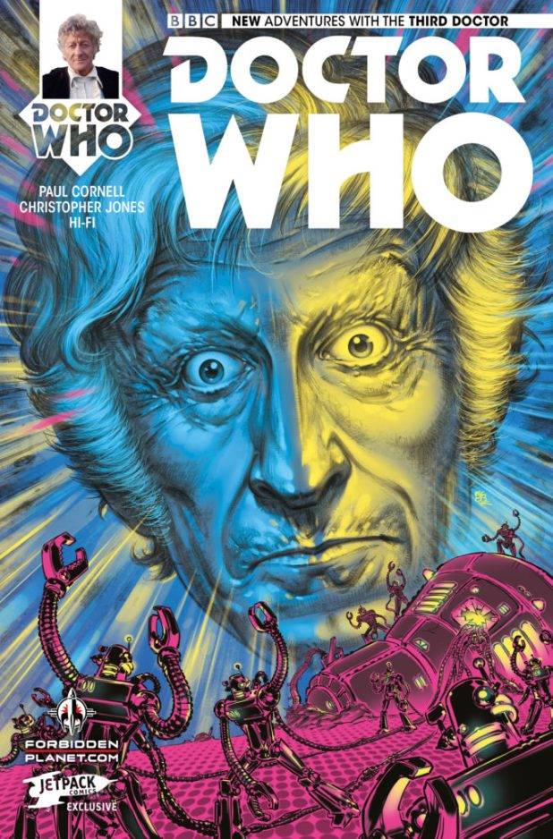 Doctor Who: The Third Doctor - Forbidden Planet/Jetpack store variant: Boo Cook