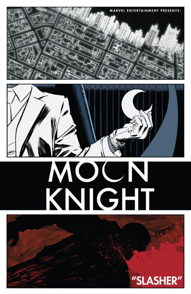 Moon Knight #1 - Titles