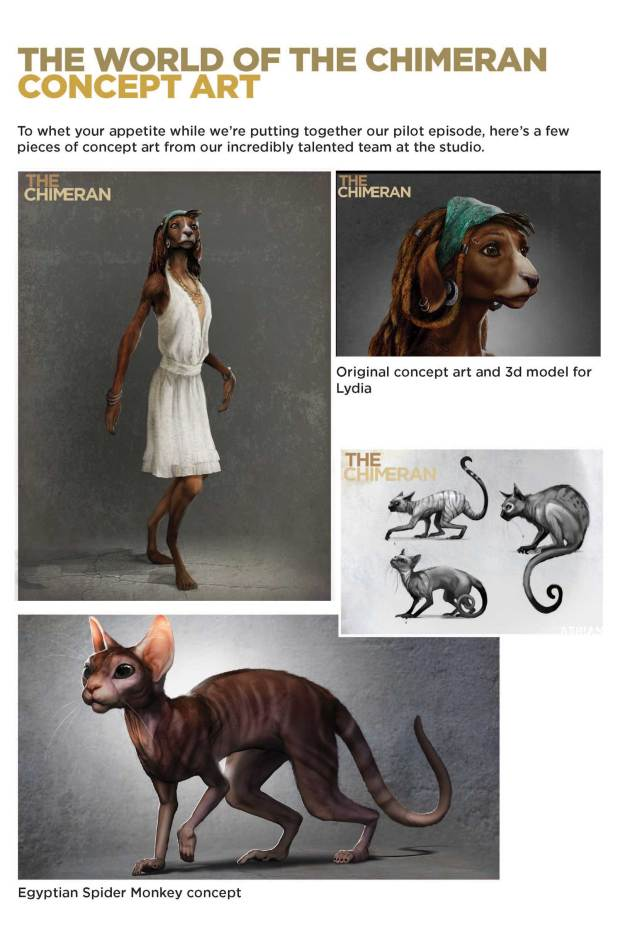 The Chimeran - Concept Art