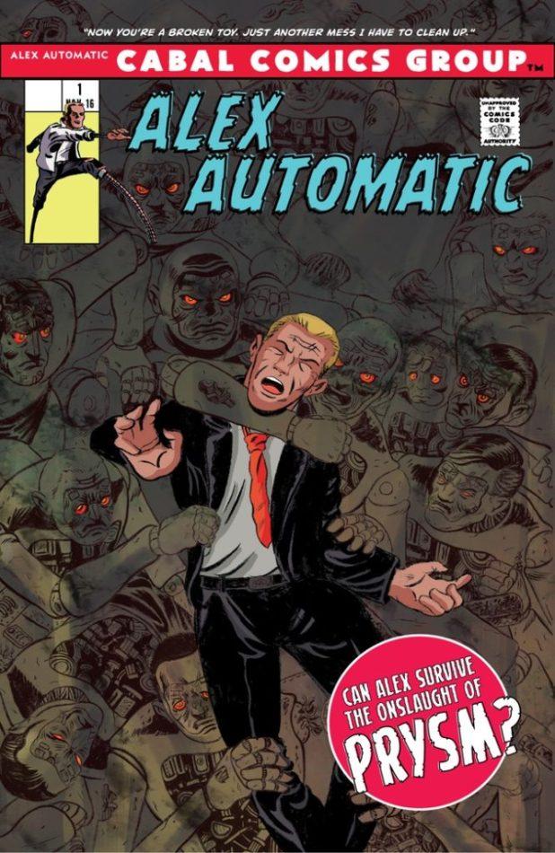 Alex Automatic #1 - Cover