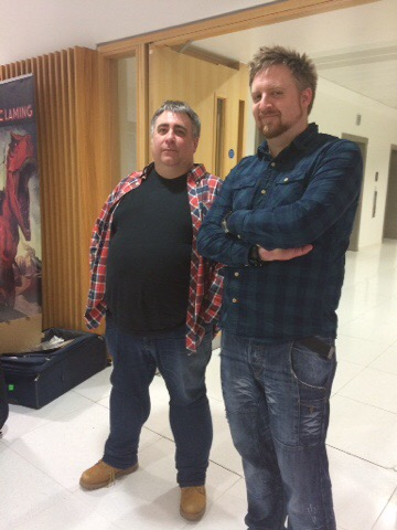 Nottingham Comic Convention 2016 - Marc Laming and Vince Hunt