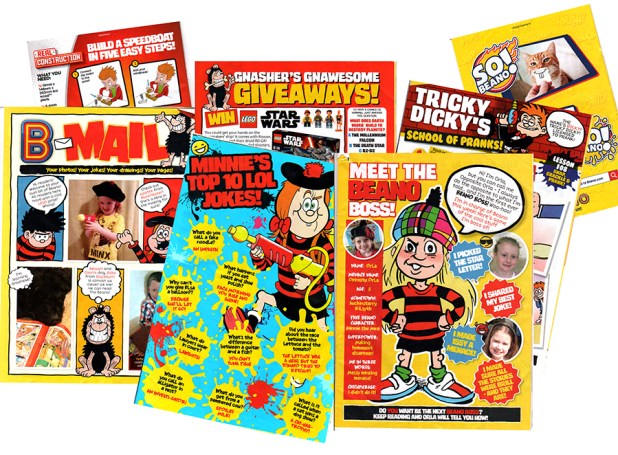 12 pages of house ads and editorial filler we ignored as per usual by young readers. In a 32-page comic there is definitely a danger of looking like the free in-store Lego catalogues that include strips... a bit risky with a £2.50 price point?