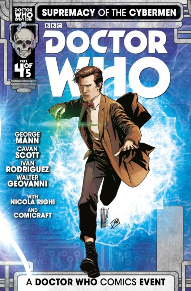 Doctor Who Supremacy Of The Cybermen #4 (Of 5)