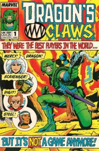 Inspirational: Dragon's Claws, which Simon and Geoff co-created for Marvel UK