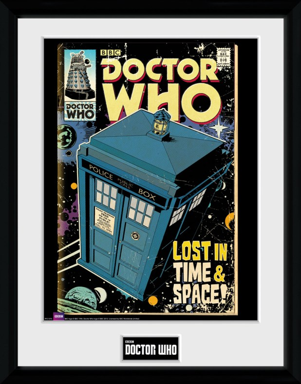 GB Posters - Doctor Who Comic Frame