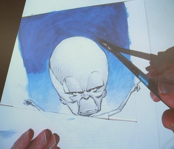 Ian Kennedy Masterclass 2016 - Blue Layer Work