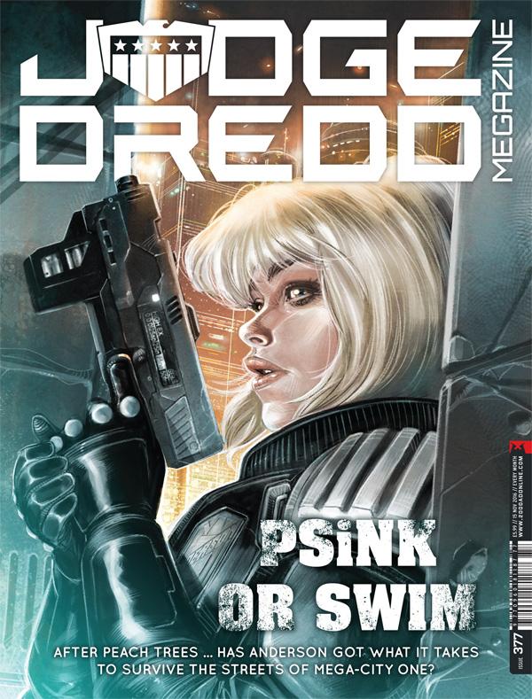 Judge Dredd Megazine 377
