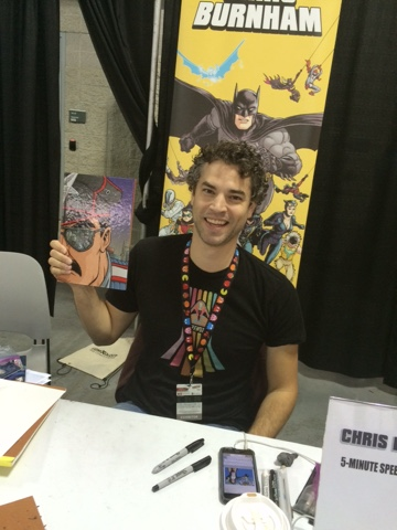 NYCC 2016 - Chris Burnham
