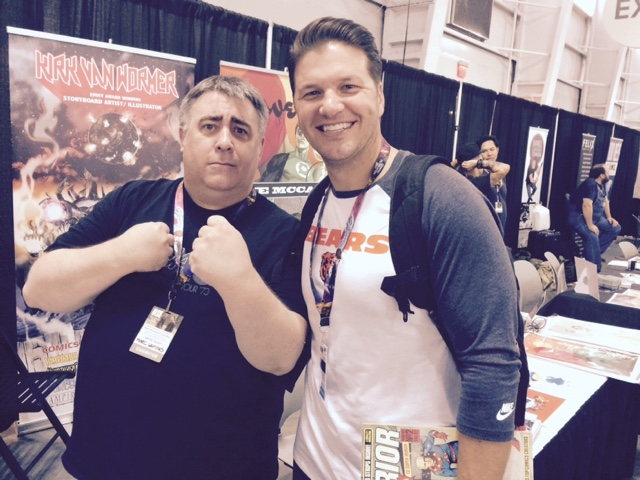NYCC 2016 - Marc Laming and Brian Vander