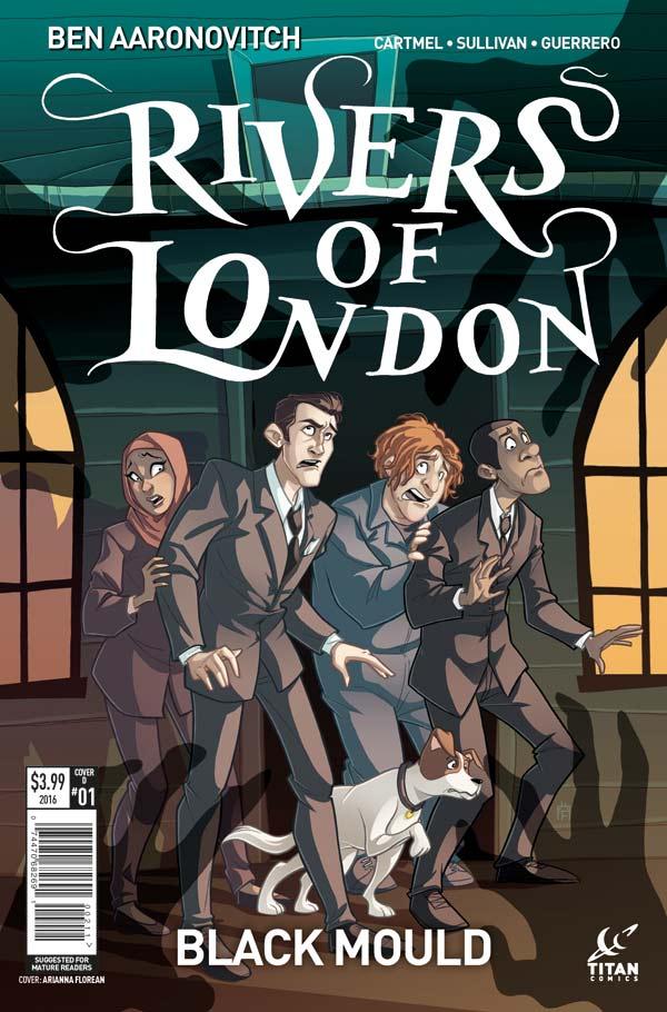 Rivers of London: Black Mould #1Cover D: Arianna Florean